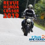 CB650R: Plaisir et équilibre