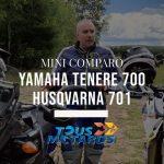 Vidéo: YAMAHA TENERE 700 – HUSQVARNA 701 : AVENTURE VS ENDURO